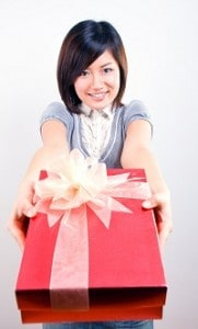 Woman-holding-present-cropped