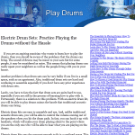 play-drums
