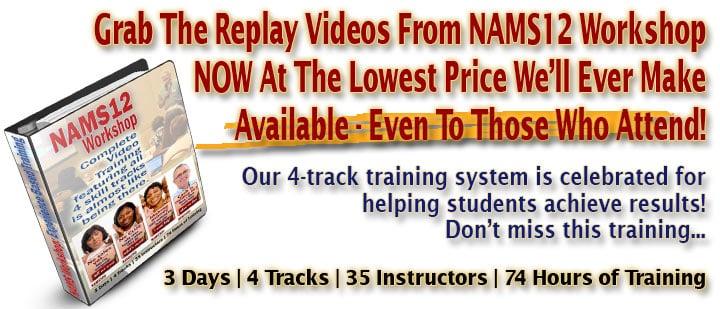 NAMS12 Video Replays