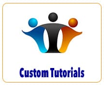 Custom Tutorials