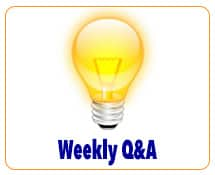 Weekly Q&A