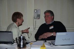Gretchen Jack and Mark Hendricks