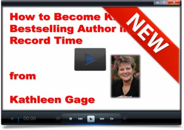 How to Become a Kindle Bestselling Author with Kathleen Gage