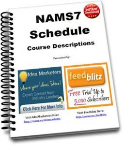 NAMS7 Schedule