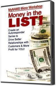 Micro Workshop Money in the List