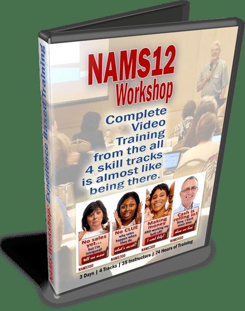 NAMS12 DVD Case