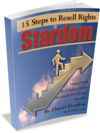 15 Steps to Resell Rights Stardom