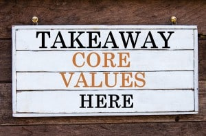 Inspirational Message - Takeaway Core Values Here