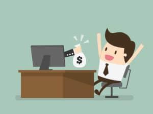 online business, making money online, The Internet Earning Concept