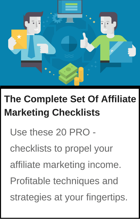 Affiliate Marketing Checklists1