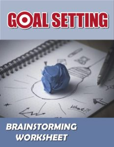 Goal Setting Brainstorming Worksheet eCover