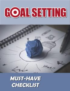 Goal Setting Must Have Checklist eCover