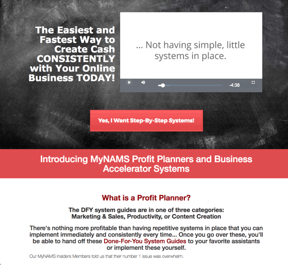 MyNAMS Profit Planners and Business Accelerators
