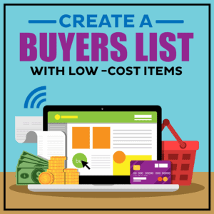 Create A Buyers List With Low -Cost Items-800