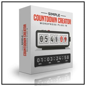 Simple Countdown Creator - WordPress Plug In-800