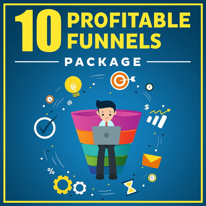 10 Profitable Funnels Package-800