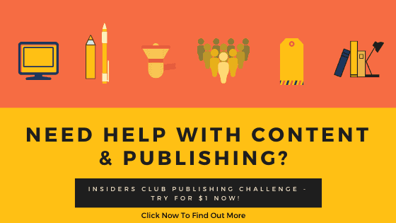 Insiders Club Publishing Challenge-clicknow