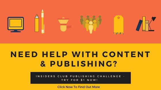 get content published