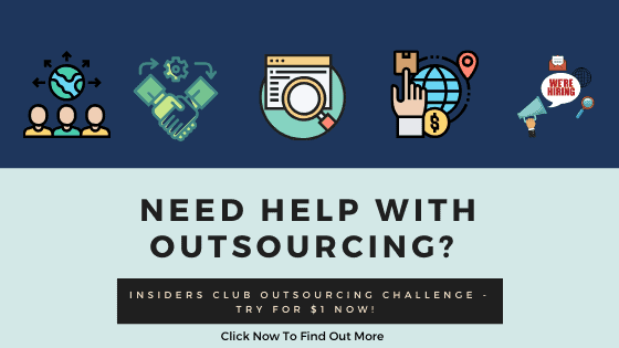 Insider's Club Outsourcing Guide