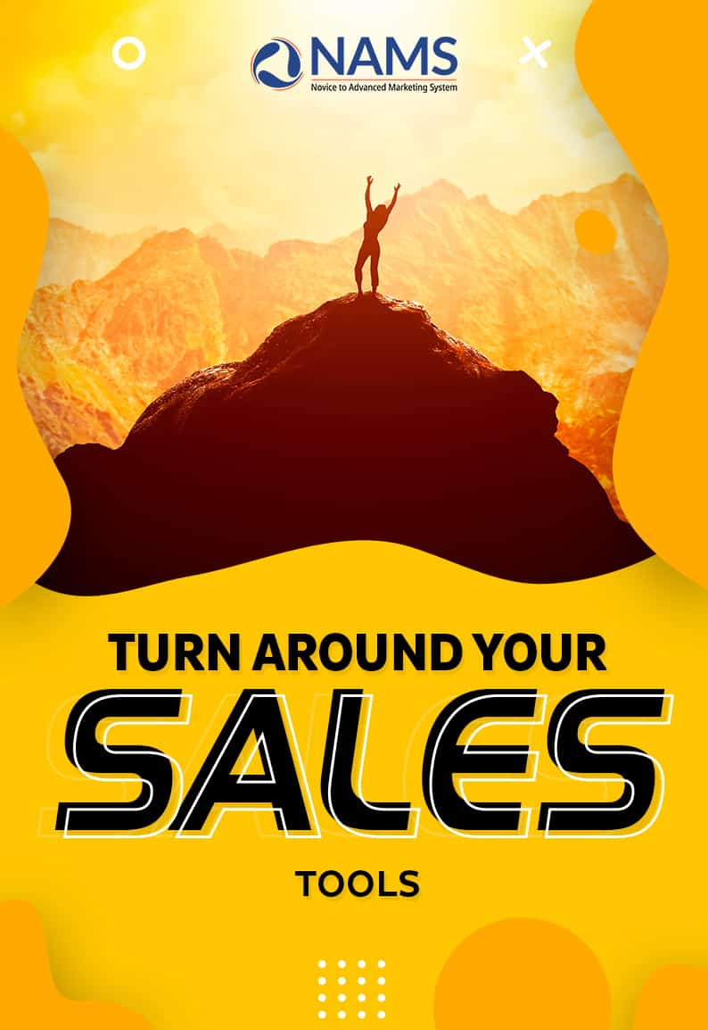 Turn Around Your Sales-Tools
