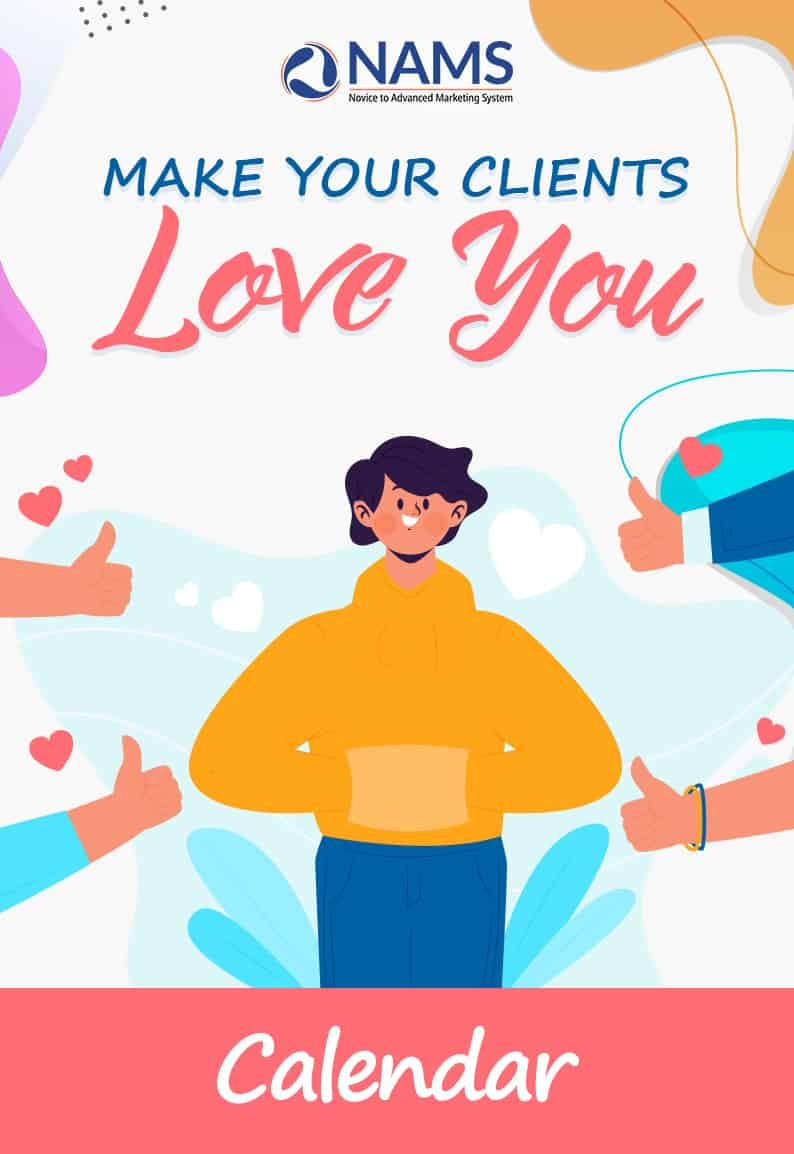 Fall in Love with Your Clients-Calendar