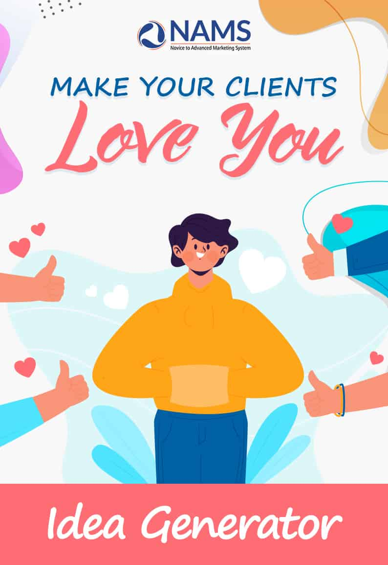 Fall in Love with Your Clients-Idea Generator