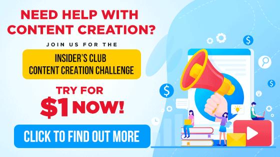 Content Creation MyNAMS Insider's Club Challenge