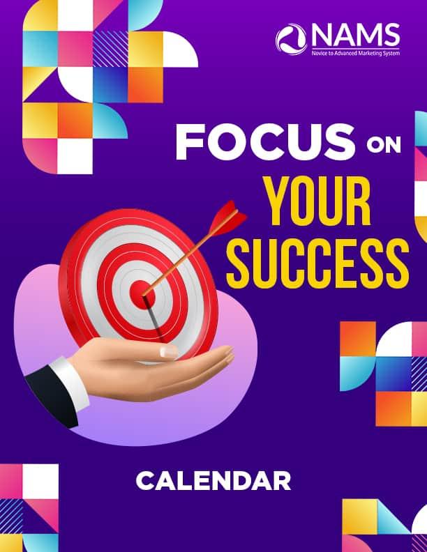 Focus on Your Success-Calendar