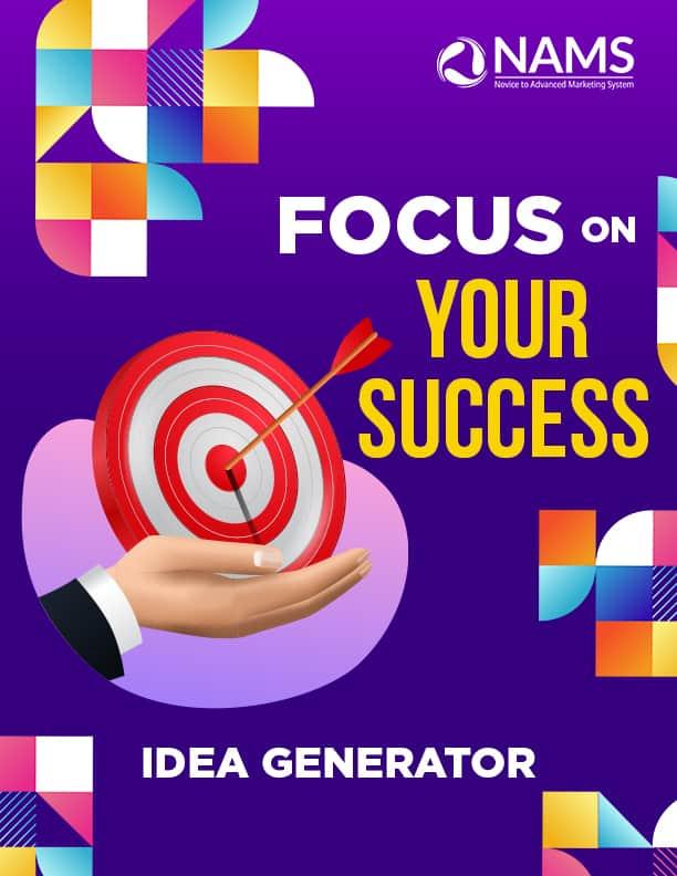 Focus on Your Success-Idea Generator
