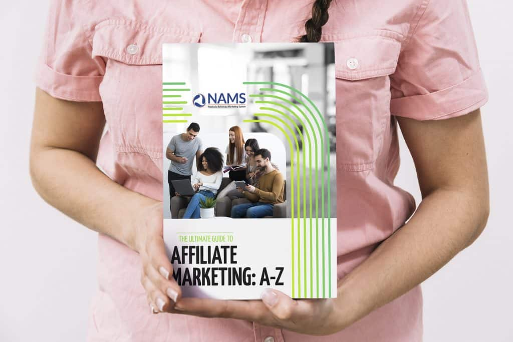 The Ultimate Guide To Affiliate Marketing A-Z - book mockup 2