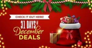December Deals Banner 2020