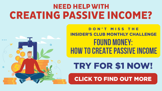 Found Money Passive Income Streams