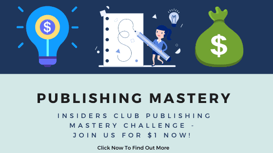 Insiders Club Publishing Challenge