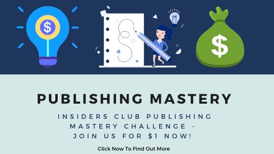 Insiders Club Publishing Challenge