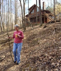 Charsa at our Log Cabin - How to change your mindset