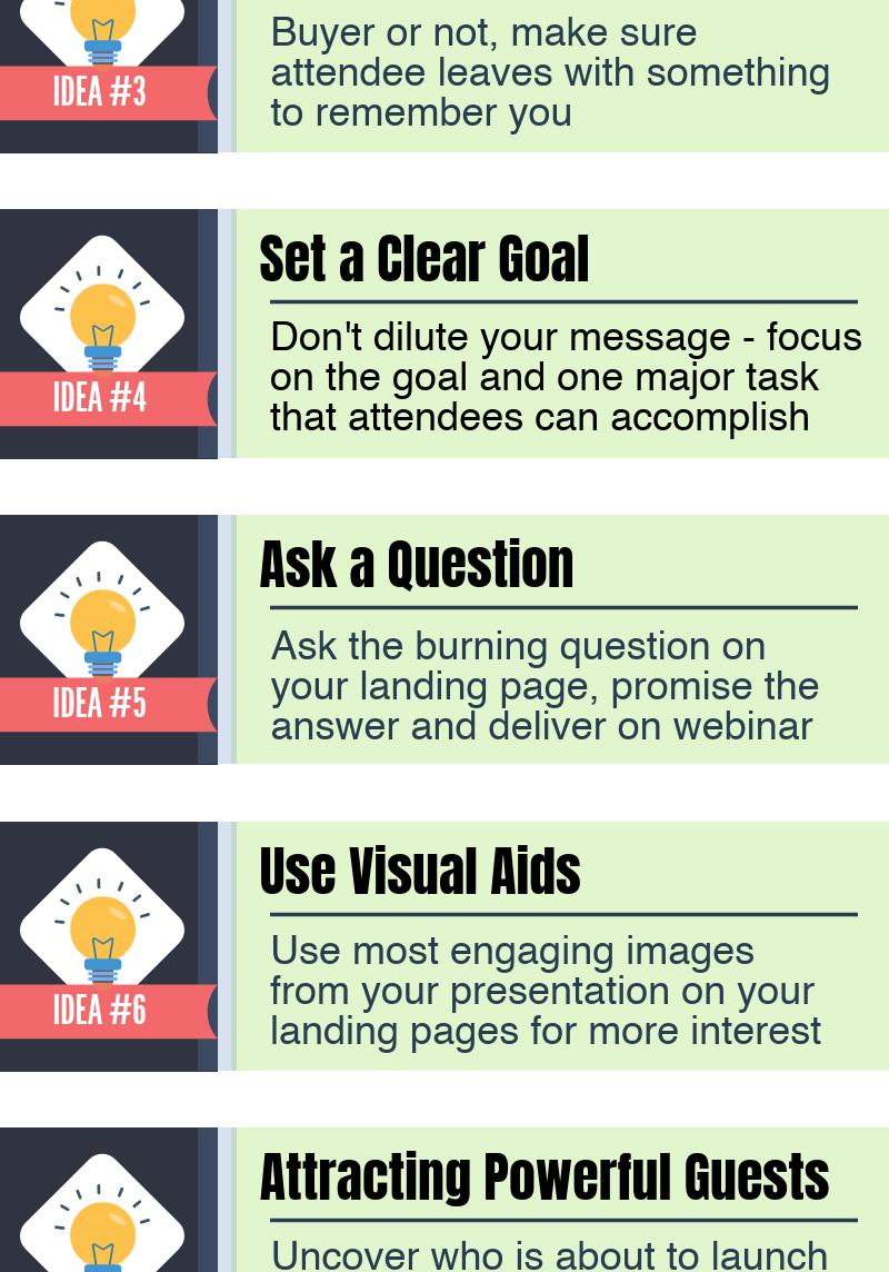 10 Steps to Getting More People On Webinars